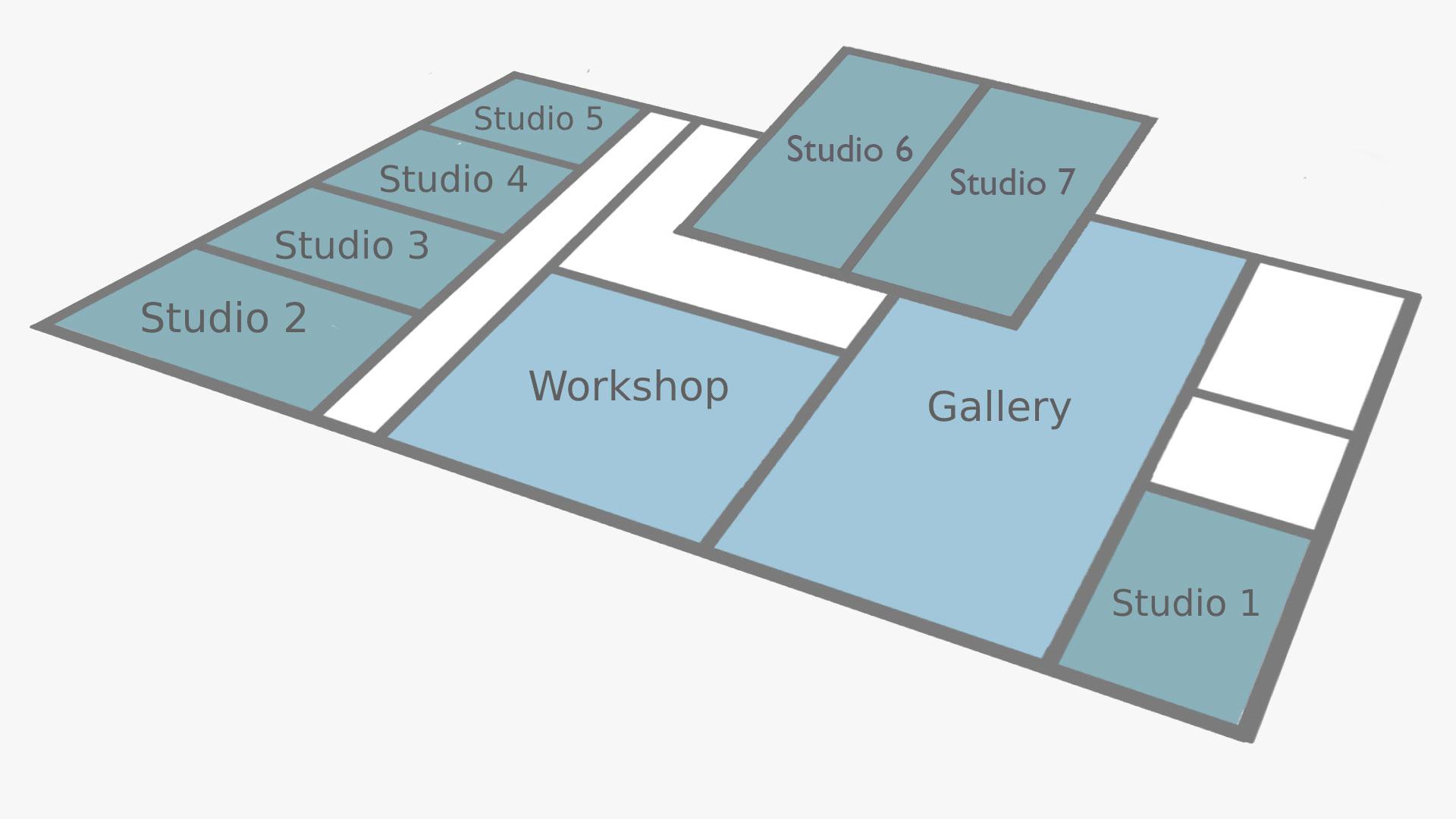 Studios floor plan